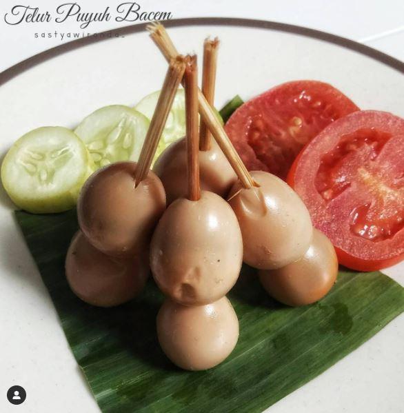 resep sate telur puyuh © berbagai sumber
