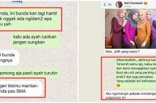 10 Chat lucu tanya jawab suami istri ini endingnya kocak abis