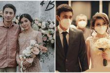 17 Momen pernikahan Irshadi Bagas 'Farel di Heart Series' dan Laras