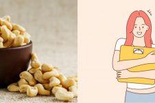 10 Manfaat kacang mete untuk kesehatan, memperkuat tulang