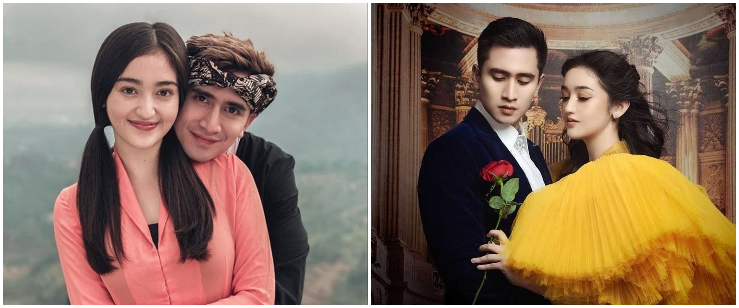 Foto editan Verrell Bramasta dan Ranty Maria jadi kakek-nenek, mirip