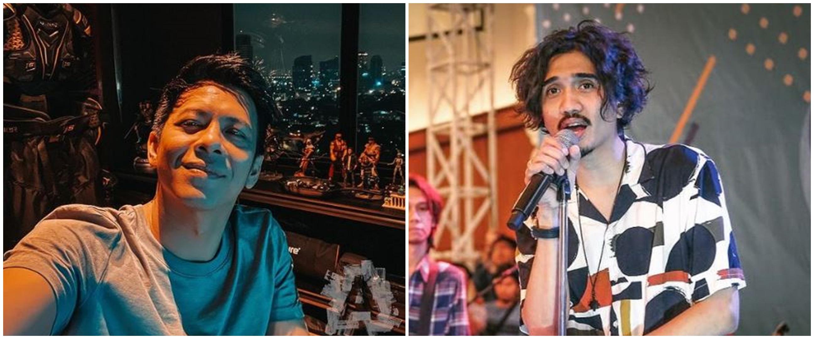 Potret 10 vokalis band jadi cover majalah, Duta dan Ariel manglingi