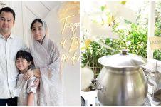 8 Potret hidangan tasyakuran kehamilan Nagita Slavina, bak di resto