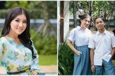 8 Gaya Sarwendah pakai seragam SMA, dipuji bak ABG