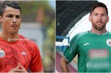 10 Editan potret pesepak bola dunia gabung klub Indonesia, kocak abis