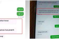 11 Chat lucu minta tolong ke driver ojek online ini ada-ada aja