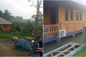 Viral rumah mewah di atas kolam, ditaksir habiskan dana Rp 1 miliar