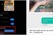 10 Chat lucu beli sepatu di online shop ini bikin geleng kepala