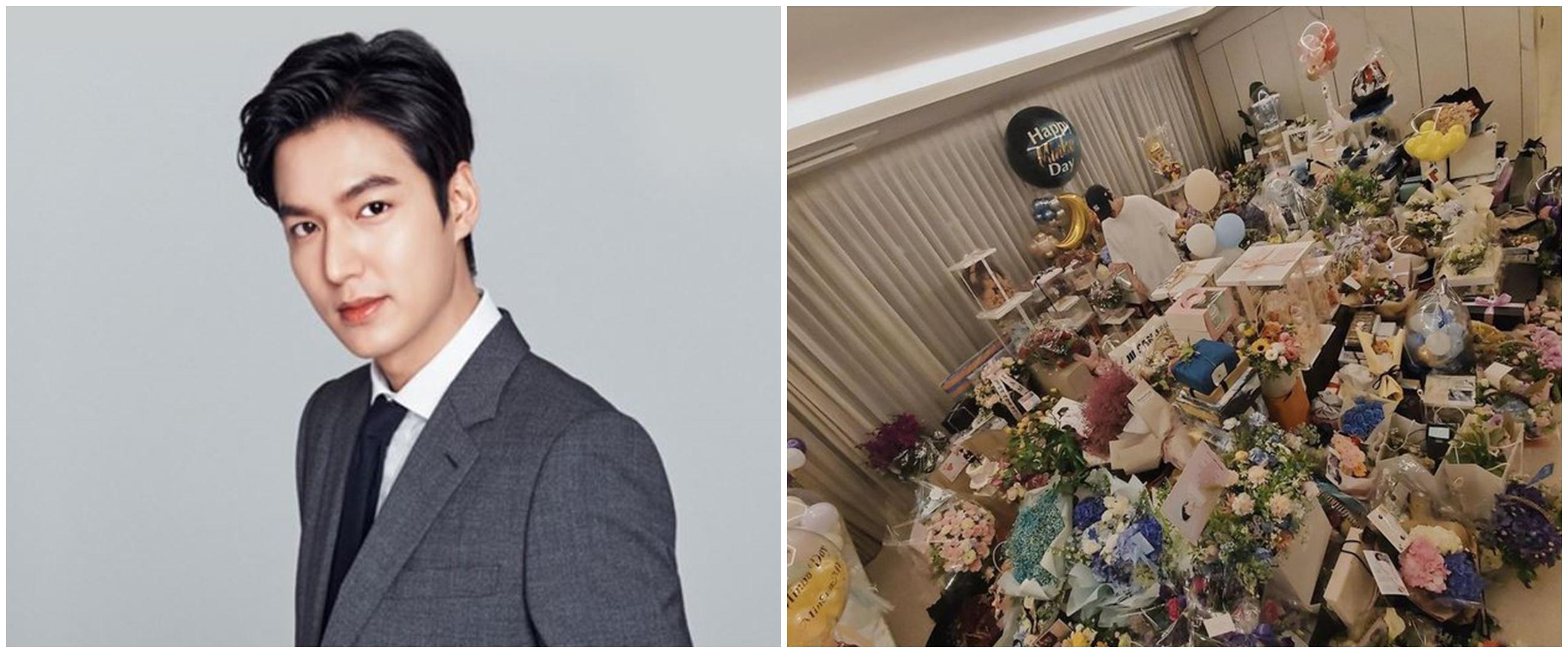 8 Potret perayaan ultah Lee Min-ho dari tahun ke tahun, banjir kado