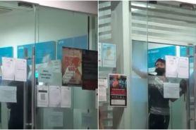 Viral kisah pria terkunci di ruang mesin ATM, apes banget