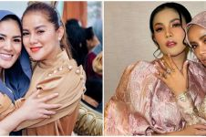 10 Potret persahabatan Olla Ramlan dan Nindy Ayunda, bikin geng seleb