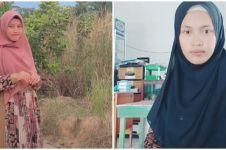 10 Potret Afifah, anak petani yang viral jadi kepala sekolah usia 23