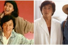 Tenar era 90-an, ini kabar 5 aktris pacar Jackie Chan di film