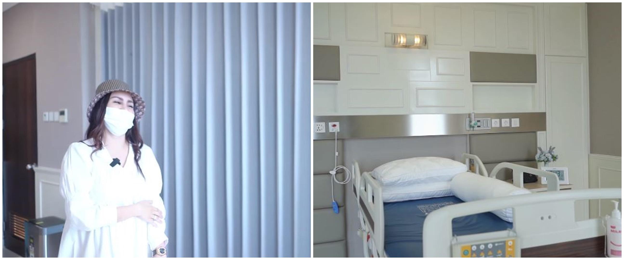 10 Potret ruang perawatan anak Momo Geisha di RS, serasa kamar hotel