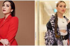 Beda gaya Nagita, Ayu Ting Ting, Aurel, dan Vanessa 'kembaran' kalung