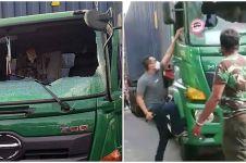 Sempat viral, pengendara Pajero penganiaya sopir truk jadi tersangka