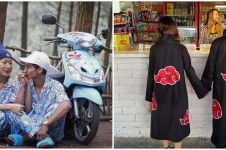 10 Penampakan nyeleneh baju couple ini bikin gagal keren