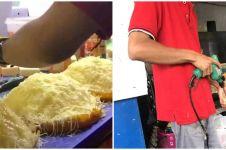 10 Aksi nyeleneh penjual sajikan makanan ini bikin ngelus dada