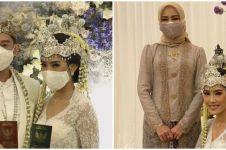 7 Penampilan Alya Rohali di nikahan Alika Islamadina, curi perhatian
