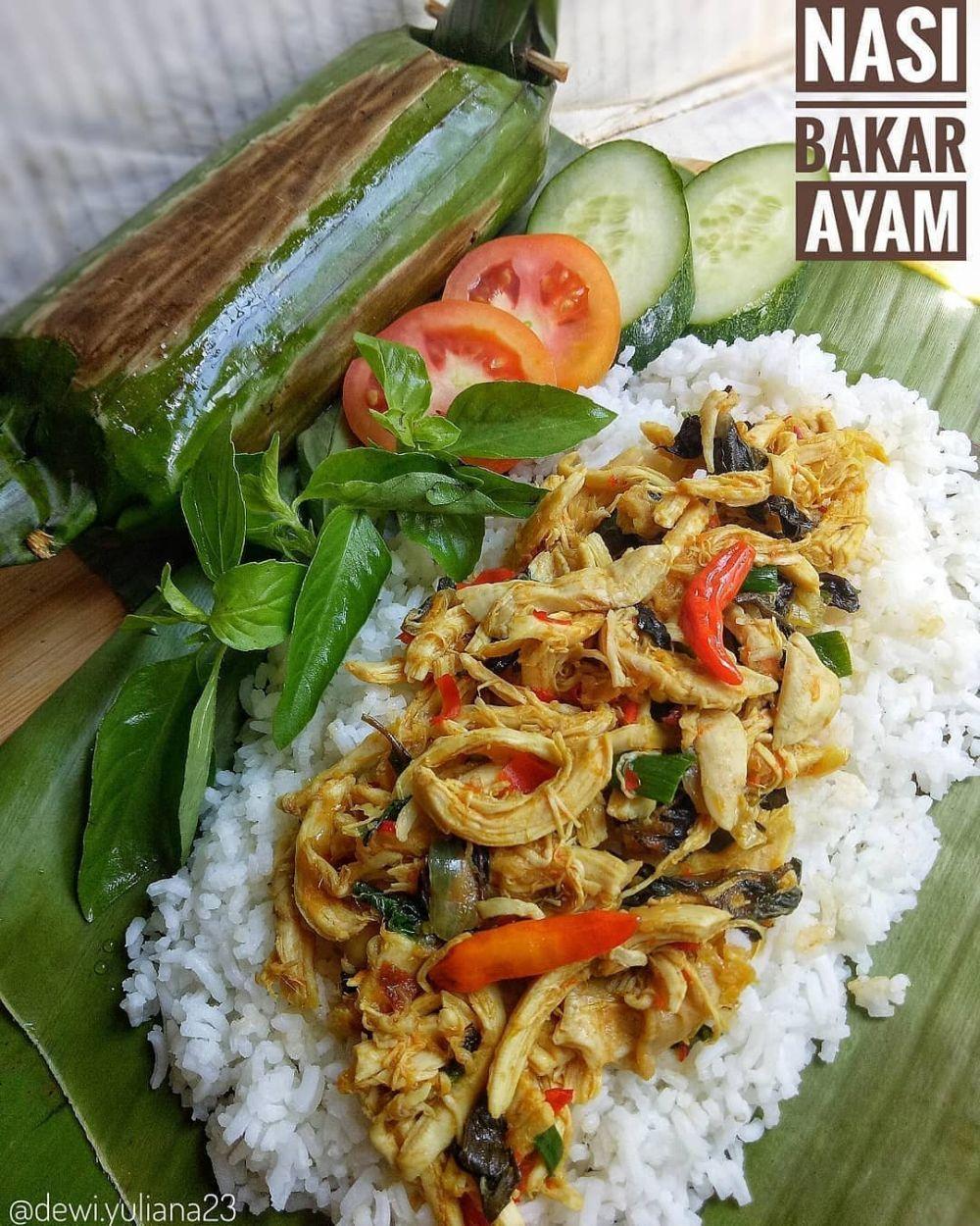 13 Resep nasi bakar ayam, wangi dan lezatnya nendang  berbagai sumber