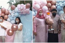 8 Momen baby shower Tiara Pangestika istri Arief Muhammad, meriah