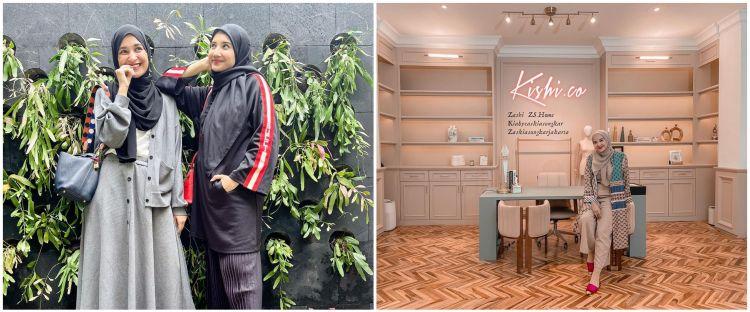 6 Potret kantor baru Zaskia dan Shireen Sungkar, bernuansa pastel