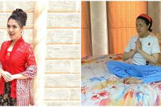 10 Penampakan kamar tidur Tina Toon, bernuansa putih elegan