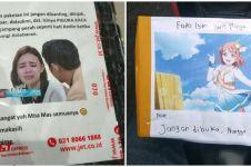 10 Foto lucu peringatan di paket barang ini bikin kurir auto nyengir