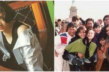 10 Potret kenangan Nike Ardilla bareng rekan artis, bikin rindu fans