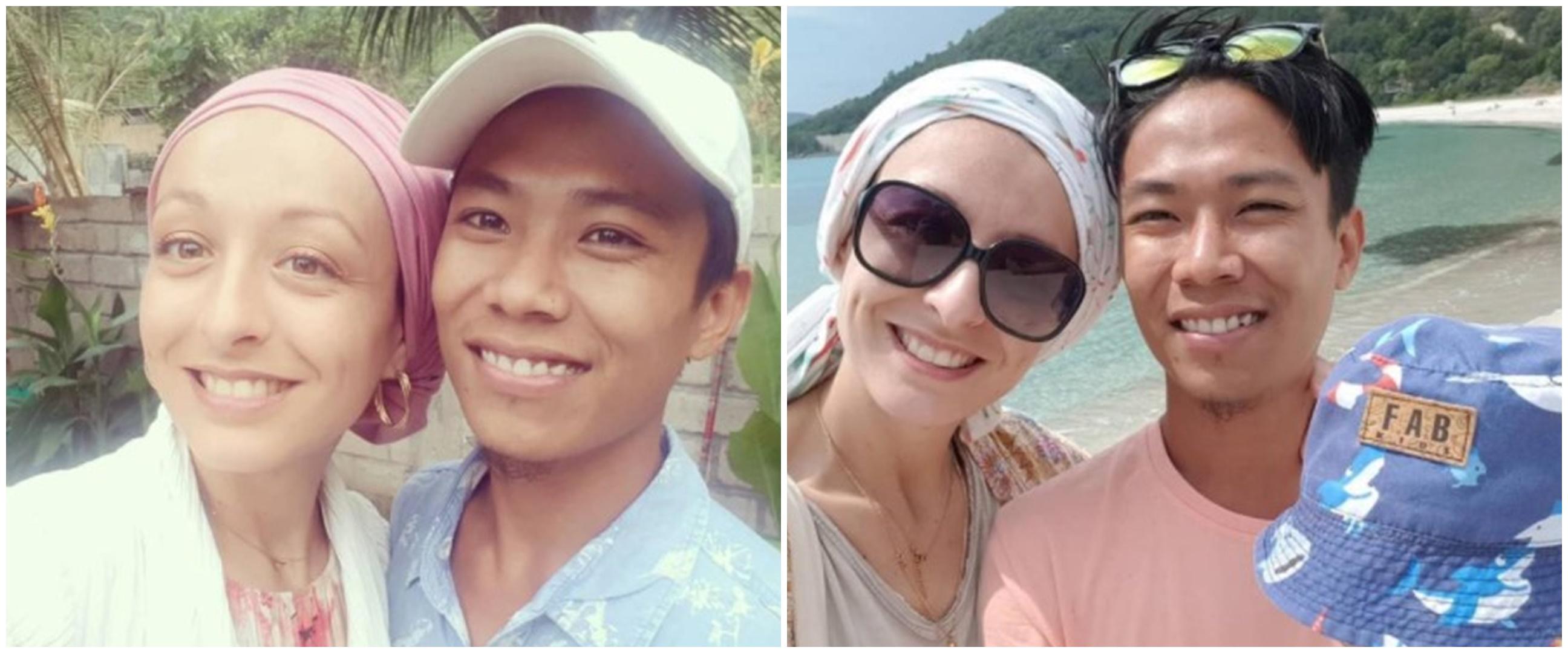 10 Potret terbaru pasangan bule Prancis dan pria Lombok, makin mesra