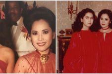 8 Potret lawas Dewi Soekarno dengan sang anak, parasnya bikin terpana