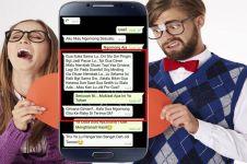 10 Chat lucu ke gebetan ini endingnya nggak dianggap, nyesek pol