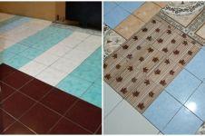 12 Potret lucu lantai keramik ini nyelenehnya bikin ikut dongkol