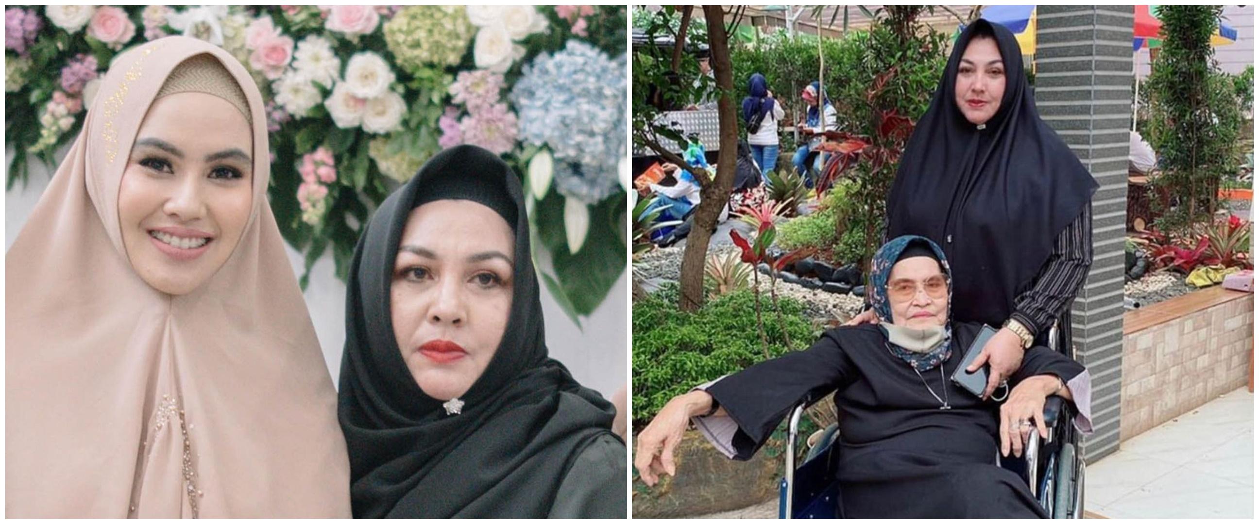 Ibunda Kartika Putri meninggal dunia, ini 8 potret kenangannya