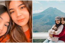 10 Potret kebersamaan Lea Ciarachel dan kakak, bak anak kembar