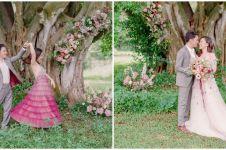 7 Tahun pacaran, ini 10 momen nikahan Calvin Jeremy dan Novia Santoso