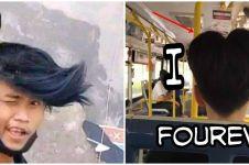 10 Potret lucu editan gaya rambut ini absurdnya bikin cekikikan