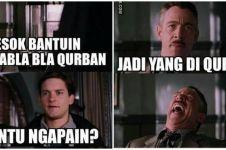 20 Meme lucu hewan kurban pas Idul Adha ini bikin baper