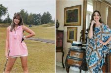 10 Gaya outfit Nia Ramadhani saat bermain golf, stylish abis