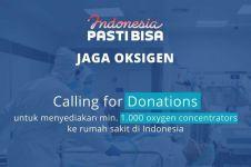 SASA dukung pengadaan oksigen lewat galang dana Indonesia PASTI BISA