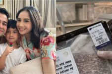 12 Momen Raffi dan Nagita Slavina masak daging seharga Rp 1,6 juta