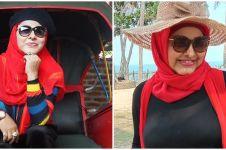 10 Potret Neneng Anjarwati dan anak bungsunya, penuh kenangan
