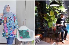 9 Potret terbaru rumah Amy Qanita, suasananya asri banget