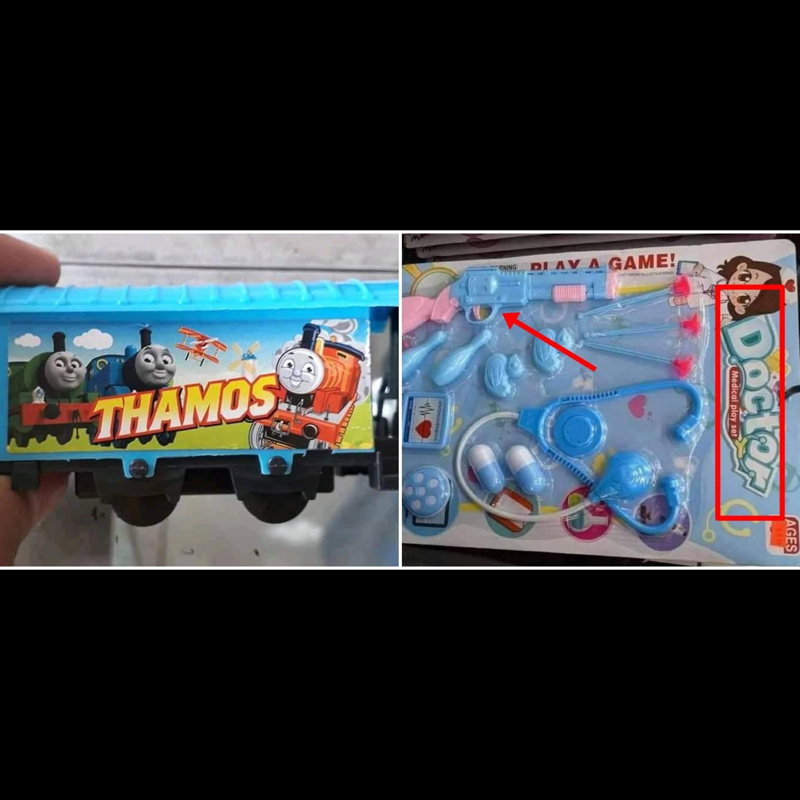 11 Kesalahan di mainan anak ini absurdnya bikin lihat dua kali