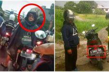 11 Momen lucu pengendara motor dilihat dari belakang, bikin ketawa