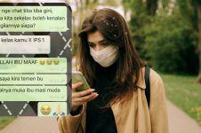 9 Chat lucu salah sangka ke guru ini bikin malu nggak keruan