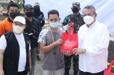 Kedua kalinya, Sasa dan TNI bersama Walubi mengadakan vaksinasi gratis