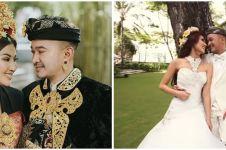 11 Potret lawas pernikahan Sarwendah dan Ruben Onsu, digelar outdoor