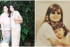 9 Potret masa muda ibu Maudy Ayunda, pesona cantiknya tak berubah