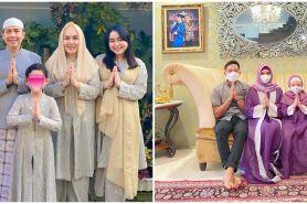 11 Seleb rayakan Idul Adha di rumah bareng keluarga, gayanya kompak
